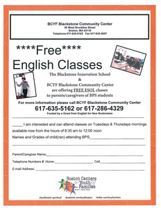 Free English Classes