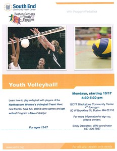 Youth Volleyball Clinic