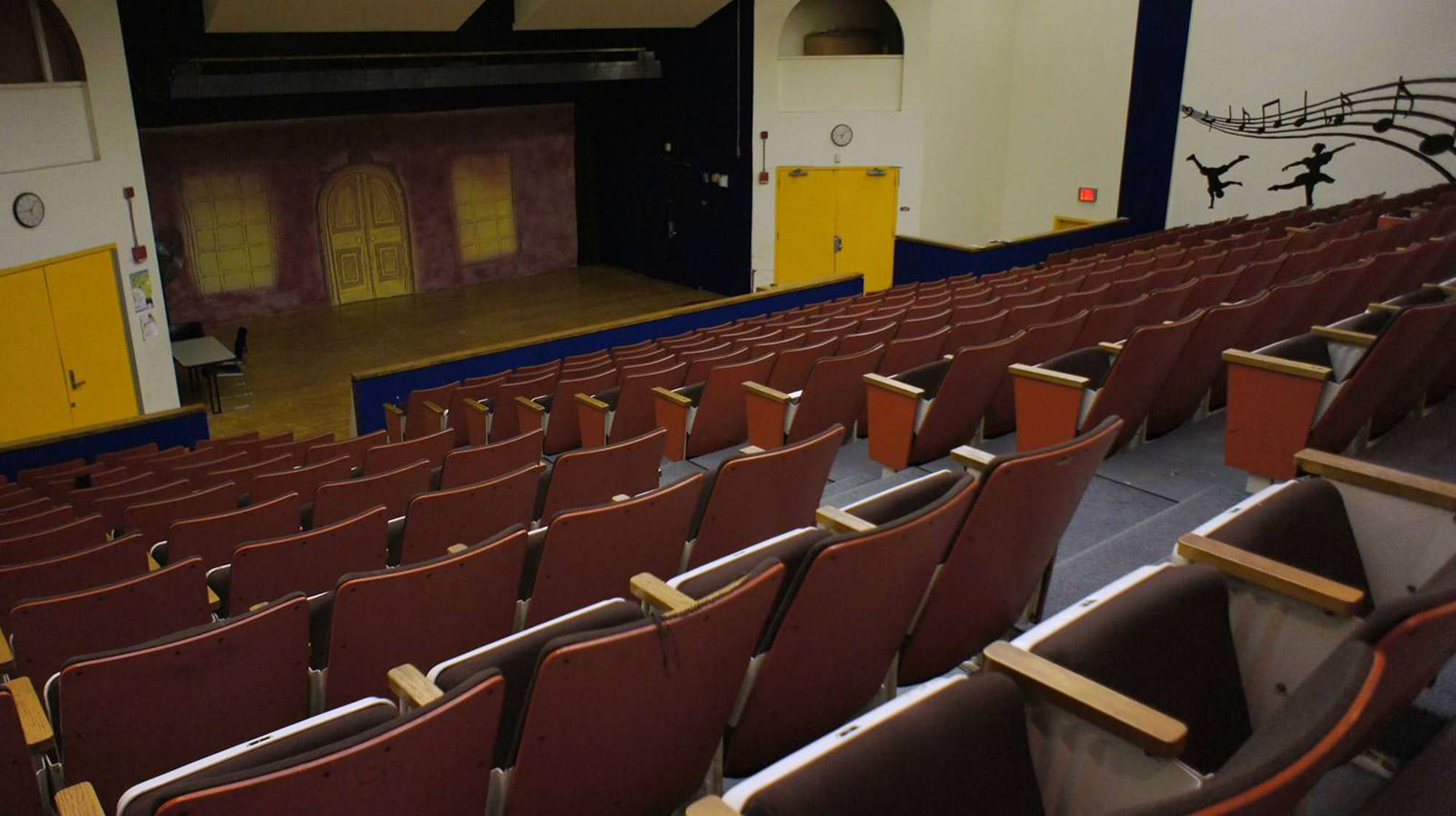 The Blackstone Community Center Auditorium