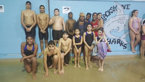 Blackstone Sharks Swim Team